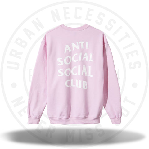ASSC Anti Social Social Club Know You Better Crewneck-Urban Necessities