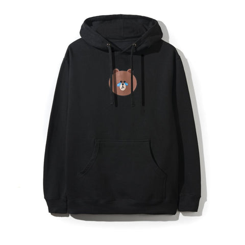 ASSC Anti Social Social Club Line Friends Brown Black Hoodie-Urban Necessities