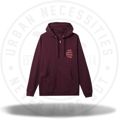 ASSC Anti Social Social Club Lost Feelies Zip Hoodie-Urban Necessities