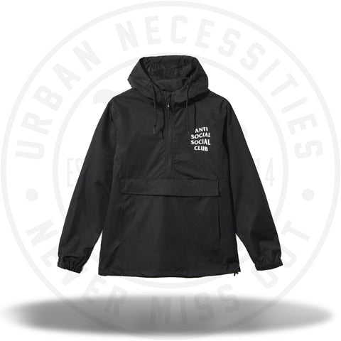 ASSC Anti Social Social Club Mak Black Anorak-Urban Necessities