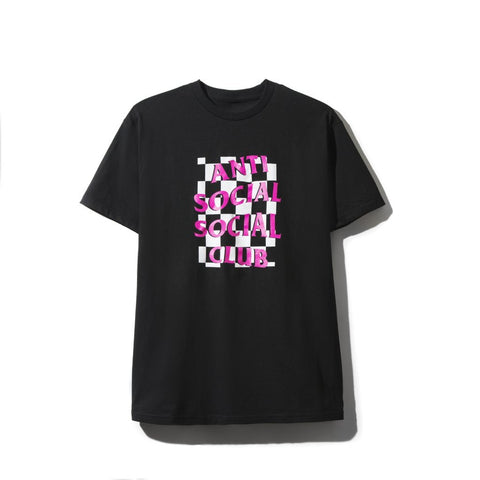ASSC Anti Social Social Club Mall Grab Black Tee-Urban Necessities