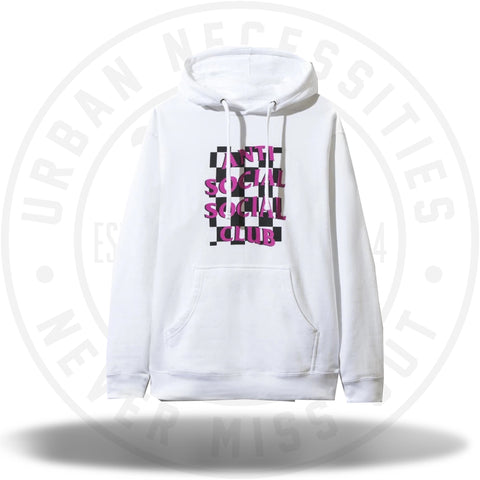 ASSC Anti Social Social Club Mall Grab White Hoodie-Urban Necessities
