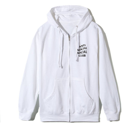 ASSC Anti Social Social Club Masochism Zip Up Hoodie-Urban Necessities