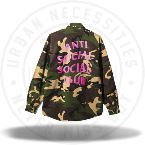 ASSC Anti Social Social Club Mirage Flannel-Urban Necessities