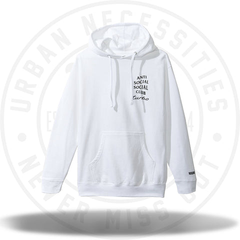 ASSC Anti Social Social Club Neighborhood 911 White Hoodie-Urban Necessities