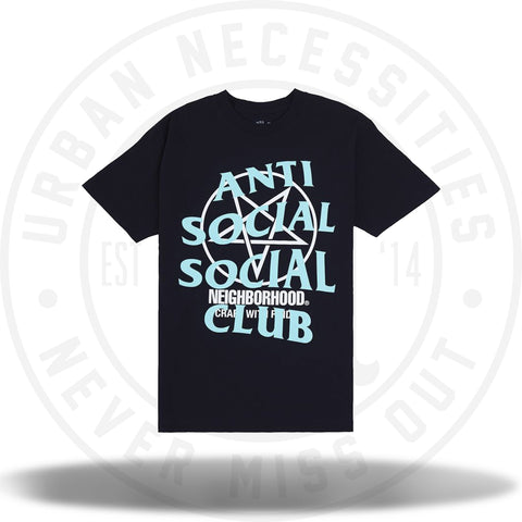 ASSC Anti Social Social Club Neighborhood Filth Fury Black-Urban Necessities