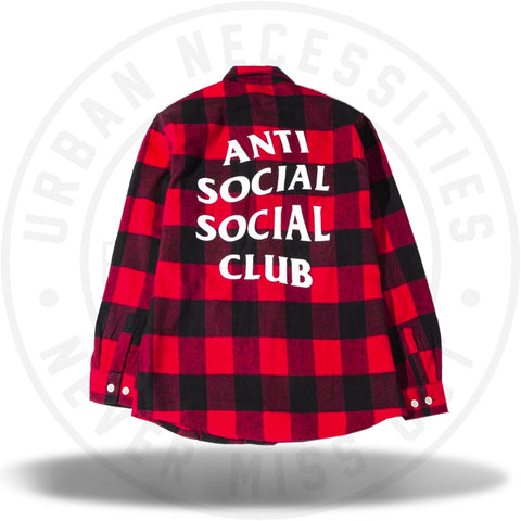 ASSC Anti Social Social Club No Expectations Flannel-Urban Necessities