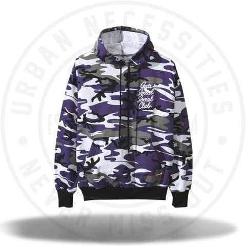 ASSC Anti Social Social Club Options Purple Camo Hoodie-Urban Necessities