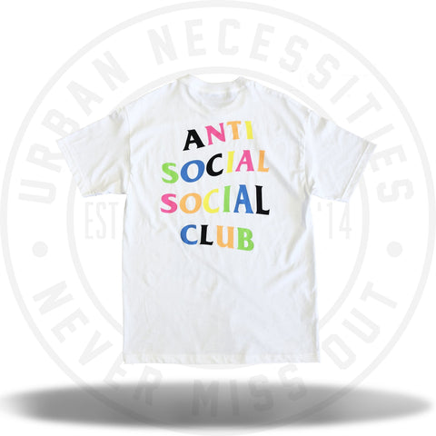 ASSC Anti Social Social Club Rainbow Tee-Urban Necessities