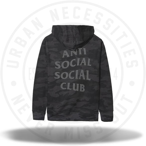 ASSC Anti Social Social Club Sleeper Black Hoodie-Urban Necessities