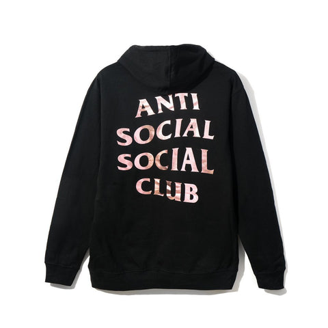 ASSC Anti Social Social Club Stressed Hoodie Black-Urban Necessities