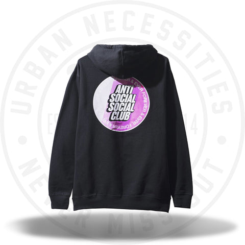 ASSC Anti Social Social Club Surfs Up Black Hoodie-Urban Necessities