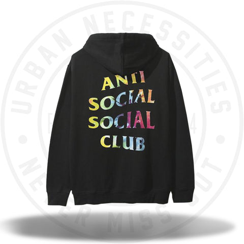 ASSC Anti Social Social Club Thai Dye Black Hoodie-Urban Necessities