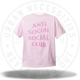 ASSC Anti Social Social Club Thorn Pink Tee-Urban Necessities