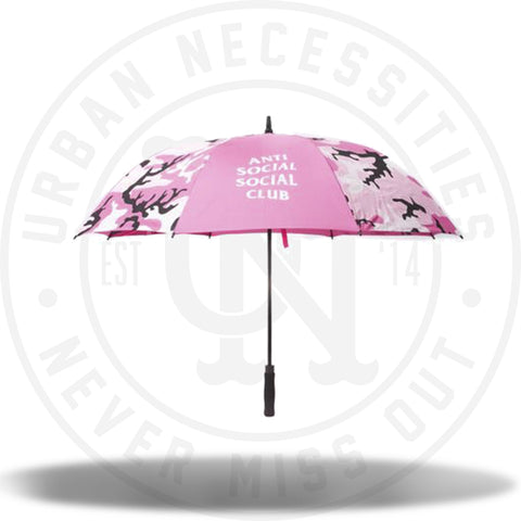 ASSC Anti Social Social Club Umbrella Pink-Urban Necessities
