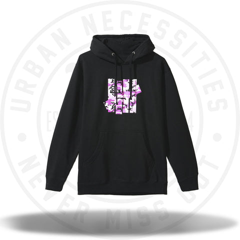 ASSC Anti Social Social Club Undefeated Black Hoodie-Urban Necessities