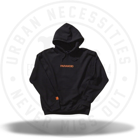 ASSC Anti Social Social Club Undefeated Paranoid Black Hoodie-Urban Necessities