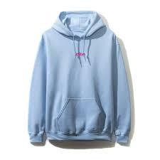 ASSC Anti Social Social Club What Sup Hoodie Blue-Urban Necessities