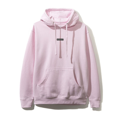 ASSC Anti Social Social Club What Sup Pink Hoodie-Urban Necessities