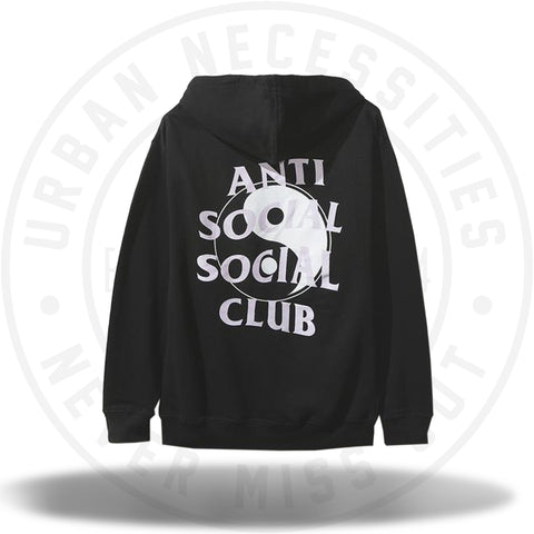 ASSC Anti Social Social Club Whisper Black Hoodie-Urban Necessities