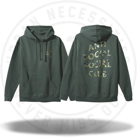 ASSC Anti Social Social Club Woody Hoodie-Urban Necessities