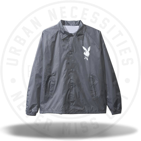 ASSC Anti Social Social Club x Playboy Iteration Grey Jacket-Urban Necessities