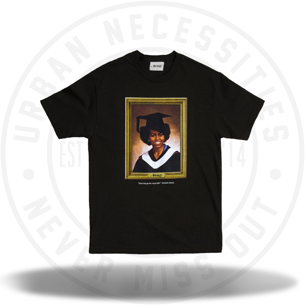 Awake Graduation Tee Black-Urban Necessities