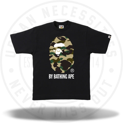 Bape 1st Camo By Bathing Ape Tee Yellow Camo/Black-Urban Necessities