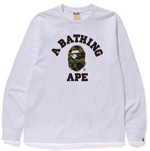 bape long sleeve t shirt