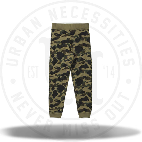 Bape 1st Camo Slim Sweatpants Green-Urban Necessities