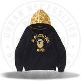 Bape A Bathing Ape x Be@brick Hoodie Black-Urban Necessities
