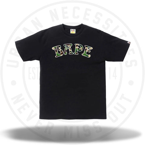 BAPE ABC Bape 88 Tee Black/Green-Urban Necessities