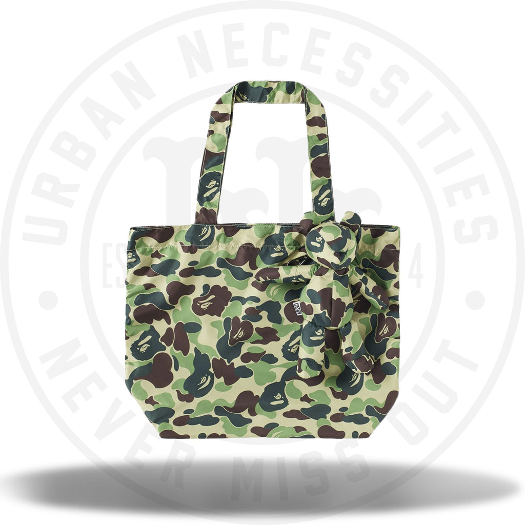 Bape ABC Bear Eco Bag Green-Urban Necessities