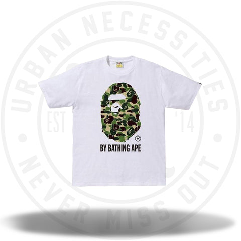 BAPE ABC By Bathing Tee White/Green-Urban Necessities