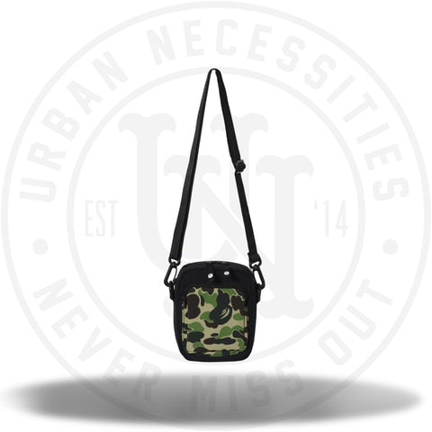 Bape ABC Camera Pouch Black/Green-Urban Necessities