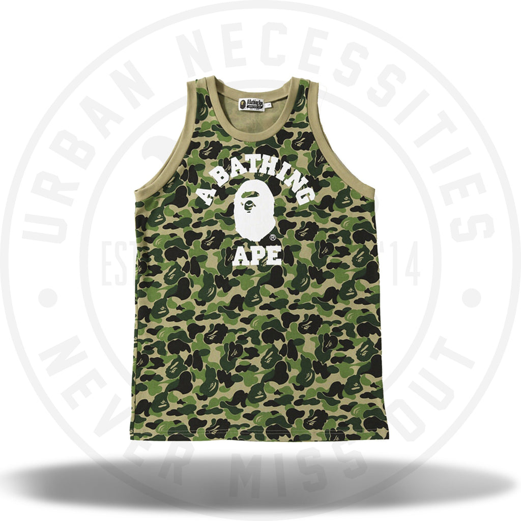 Bape ABC Tank Top Green-Urban Necessities