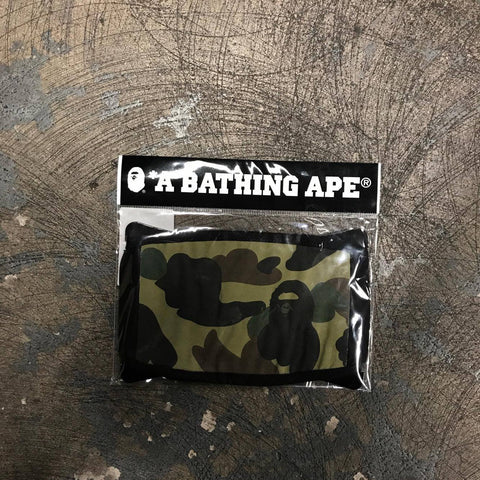 Bape Bathing Ape Camo Mask Green-Urban Necessities