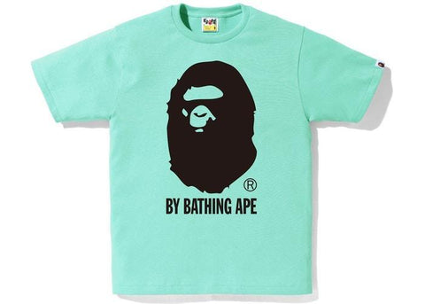 BAPE Bicolor By Bathing Tee Green-Urban Necessities