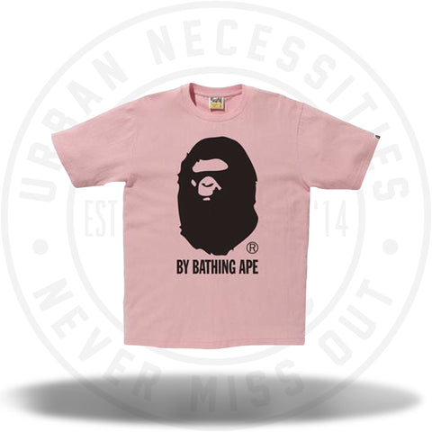 BAPE Bicolor By Bathing Tee Pink/Black-Urban Necessities