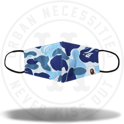 BAPE Big ABC Camo Mask Blue-Urban Necessities