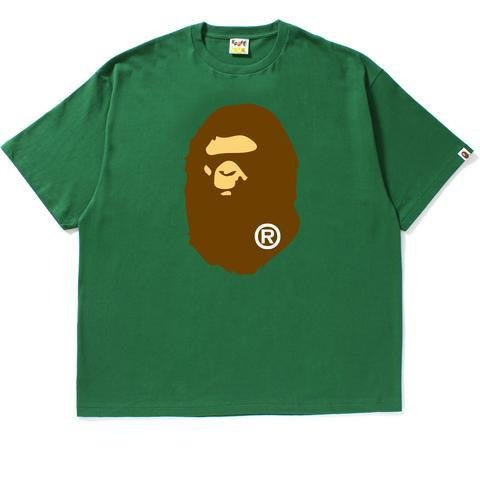 Bape Big Ape Head Tee Green-Urban Necessities