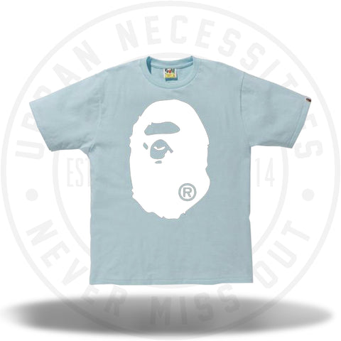 Bape Big Ape Head Tee Sax Mint/White-Urban Necessities