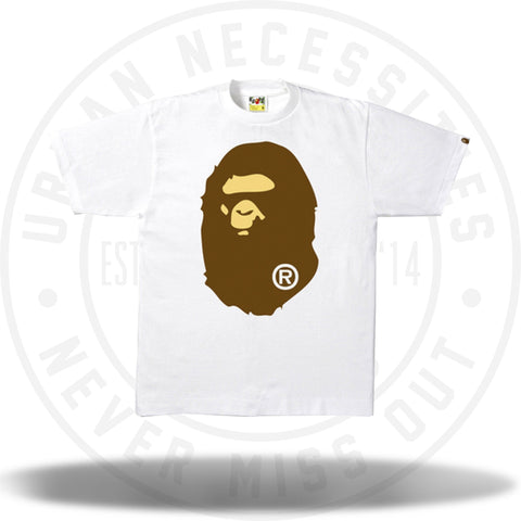 Bape Big Ape Head Tee White-Urban Necessities