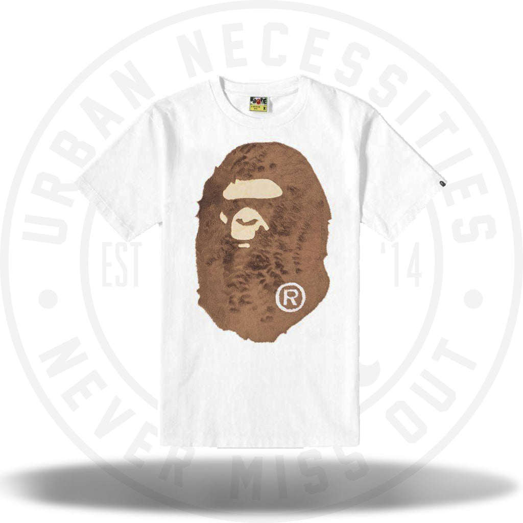Bape Boa Big Ape Tee White-Urban Necessities