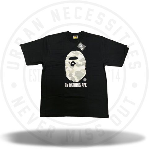 Bape City Camo By Bathing Tee Black/White-Urban Necessities
