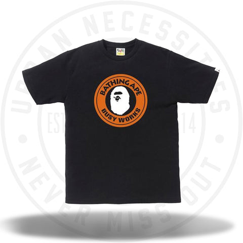 Bape Colors Busy Works Tee Black-Urban Necessities