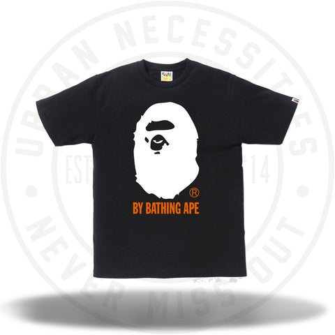 Bape Colors By Bathing Tee Black/White-Urban Necessities