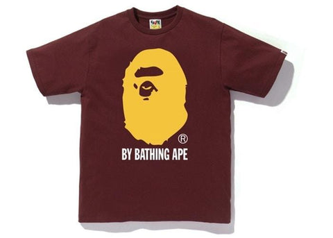 BAPE Colors By Bathing Tee Burgundy-Urban Necessities