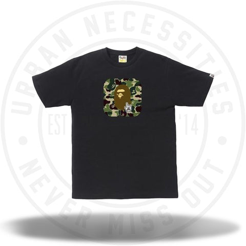 Bape Go Ape ABC Tee Online Exclusive Black-Urban Necessities