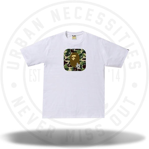 Bape Go Ape ABC Tee Online Exclusive White-Urban Necessities